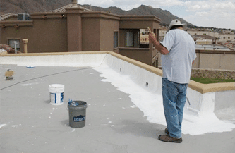 roof coating-sealing